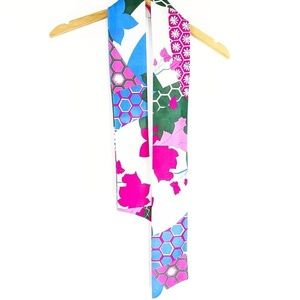 Vintage Asian Inspired Print Scarf